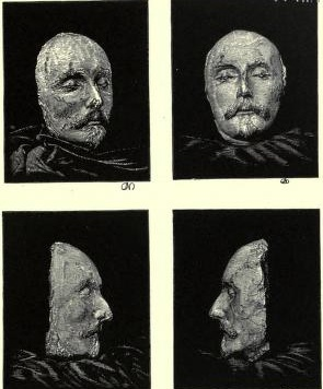 Becker Death Mask of Shakespeare
