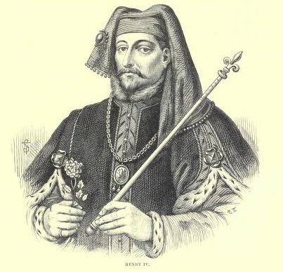 King Henry IV. From Cassell's History of England, Vol.1